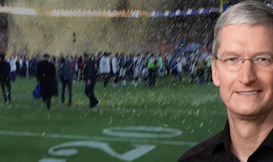 Tim Cook, Super Bowl