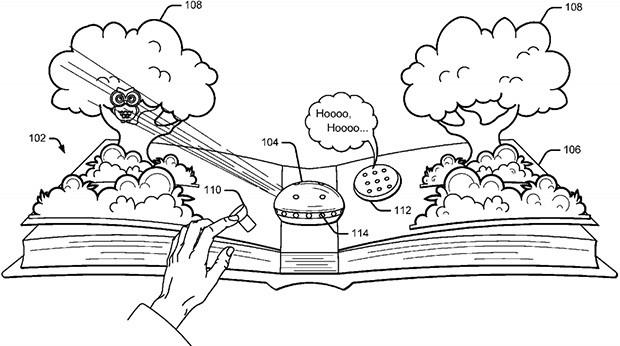 """Lo schema incluso nel brevetto """"Storytelling device"""" depositato da Google"""