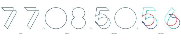 Il conto alla rovescia sul sito ufficiale del Google I/O 2016