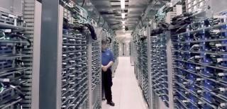Google, data center