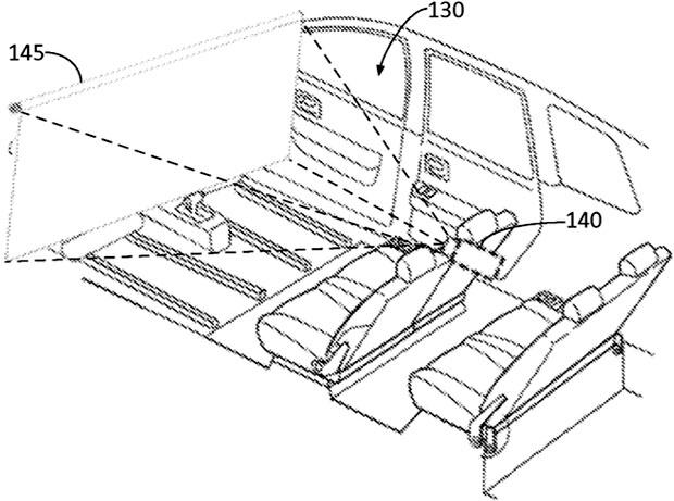 """Il brevetto Ford """"Autonomous vehicle entertainment system"""""""