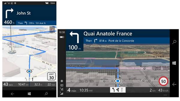 Windows 10, nuova app Mappe