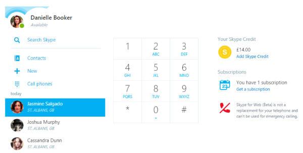 Microsoft aggiorna Skype per il Web