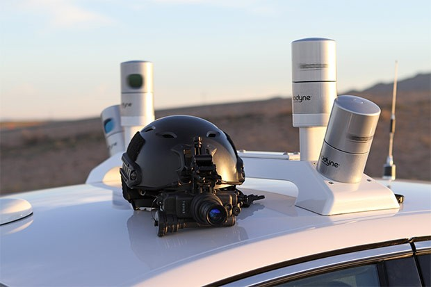 Il sistema LiDAR installato sulle vetture a guida autonoma di Ford
