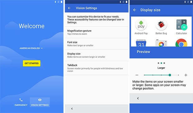 Le impostazioni per l'accessibilità introdotte da Google in Android N