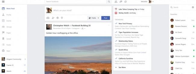 Facebook per Windows 10