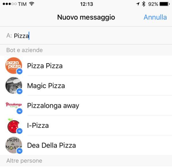 Facebook Messenger: arrivano i Bots?