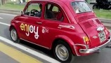 Car sharing: a Milano con la 500 storica di enjoy