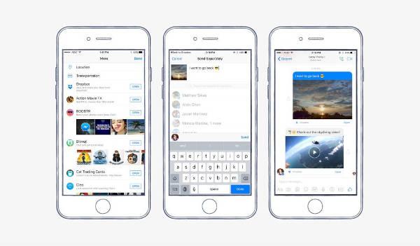 Facebook Messenger si integra con Dropbox