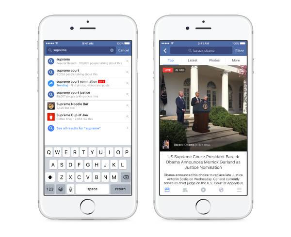 Facebook rende più facile trovare i video