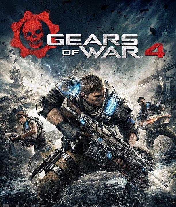 La copertina di Gears of War 4