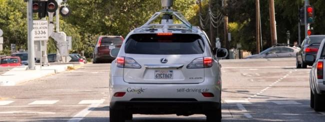 Google self-driving car