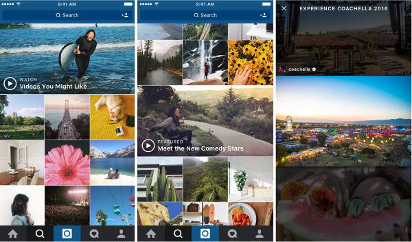 Instagram, arrivano i canali video