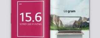 LG Gram 15: notebook Windows 10 in meno di 1 Kg