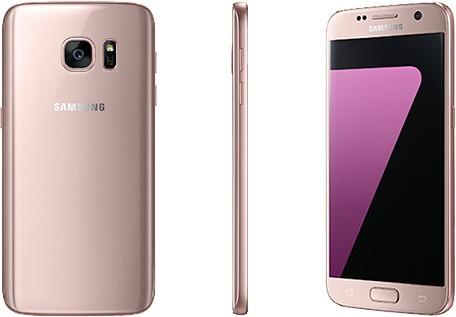 La nuova versione Pink Gold dello smartphone Samsung Galaxy S7