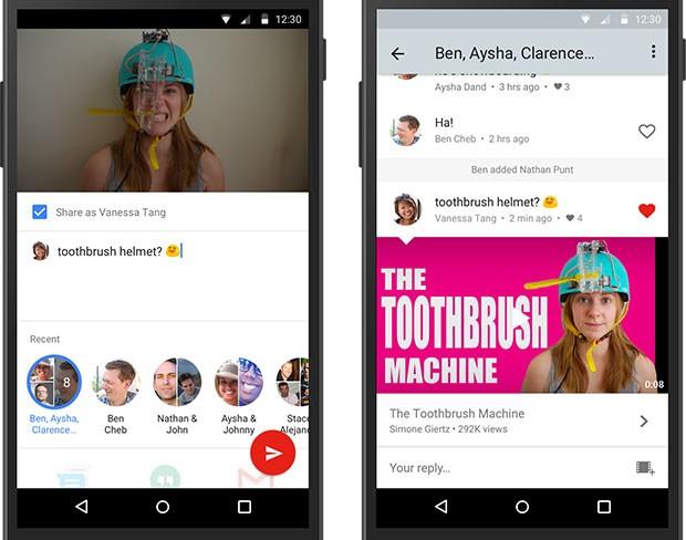 La funzionalità Native Sharing, attualmente in fase di test, permetterà di discutere dei video in streaming senza uscire dall'applicazione