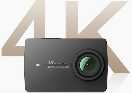 La nuova videocamera YI 4K Action Camera con supporto alla registrazione Ultra HD