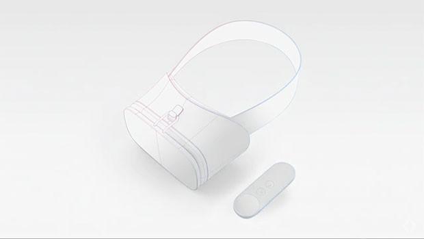 Concept di visore e controller compatibili con Daydream