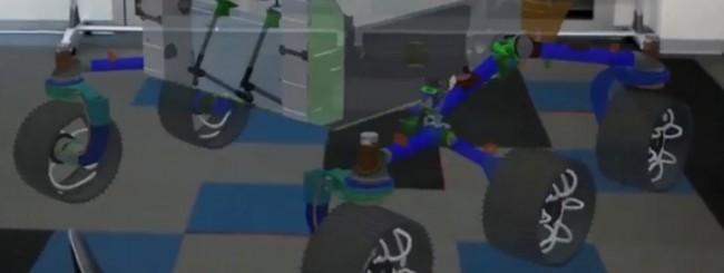 NASA Mars Rover - HoloLens