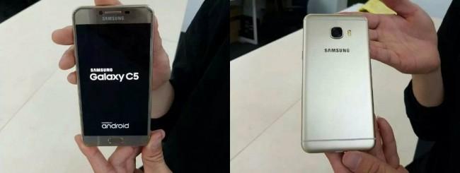 Samsung Galaxy C5 leak