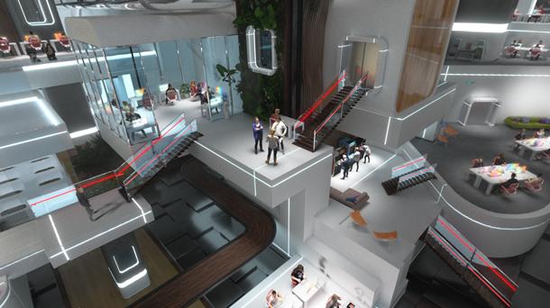 La sede di OnePlus in realtà virtuale.