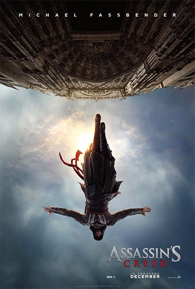 La locandina del film di Assassin's Creed