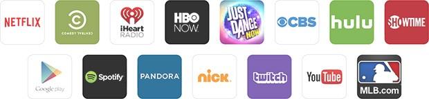 App e servizi compatibili con la tecnologia Cast di Google