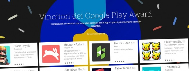 Google Play Award 2016