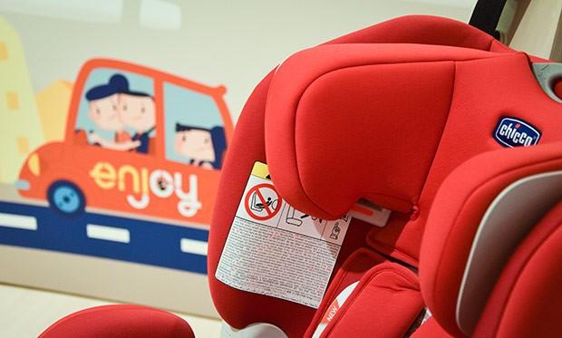 I seggiolini Chicco Seat UP 012 presenti sulle macchine Enjoy
