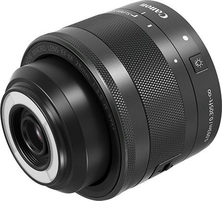 L'obiettivo macro EF-M 28mm f/3.5 Macro IS STM