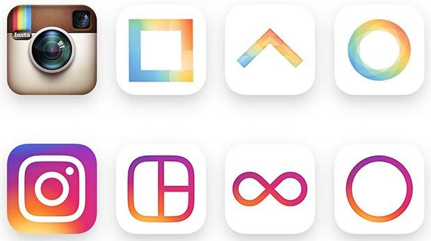 Le nuove icone di Instagram, Layout, Boomerang e Hyperlapse