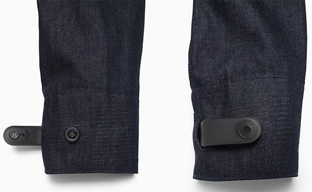 Un esempio di tessuto hi-tech creato dal team ATAP di Google, in collaborazione con Levi's, per Project Jacquard