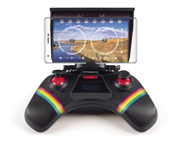 Drone Polaroid, controller