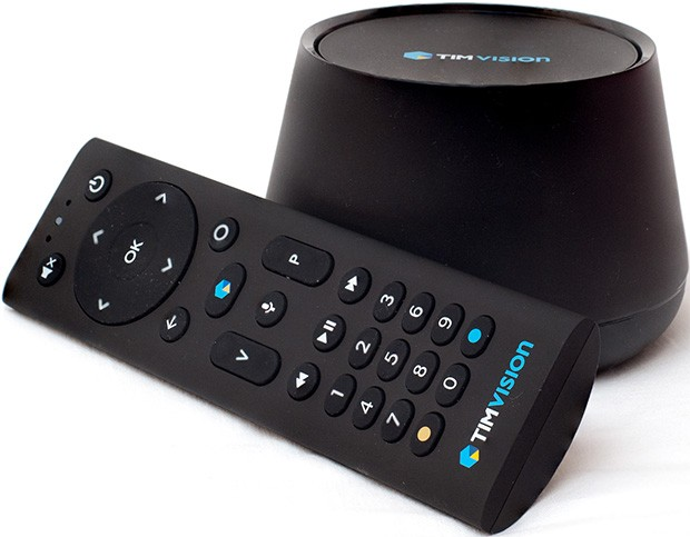 Il set-top box TimVision con Android TV