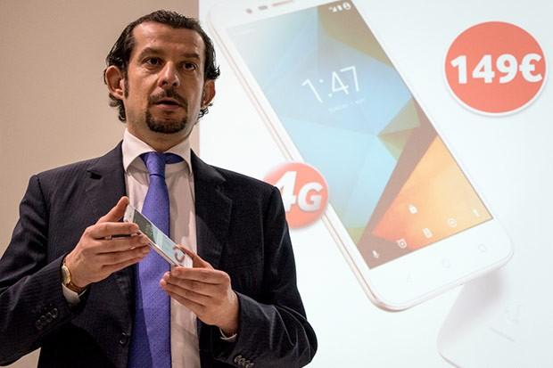 Dario Baroni, Responsabile Marketing Consumer di Vodafone Italia, alla presentazione dello Smart Prime 2016