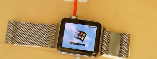 Windows 95 su Apple Watch