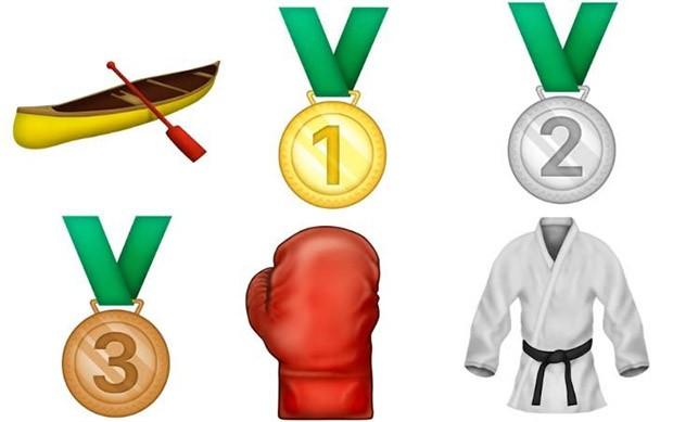 Sport e medaglie olimpiche tra i nuovi emoji