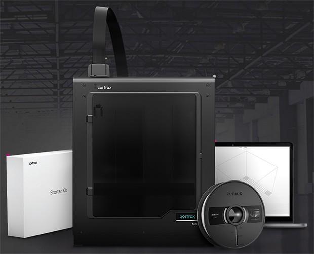 Zortrax M300, la stampante 3D e il contenuto dello Starter Kit