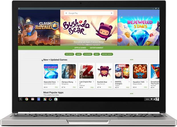 Le applicazioni Android presenti nel catalogo di Play Store disponibili sui dispositivi della linea Chromebook con sistema operativo Chrome OS