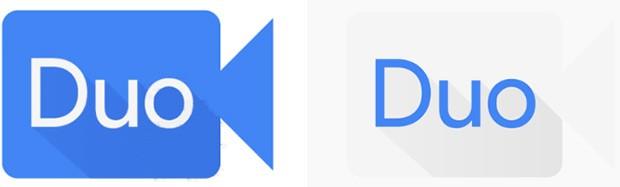 L'icona dell'applicazione Allo sviluppata da Google, prima (a sinistra) e dopo (a destra) il restyling