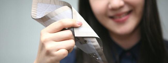 LG textile pressure sensor