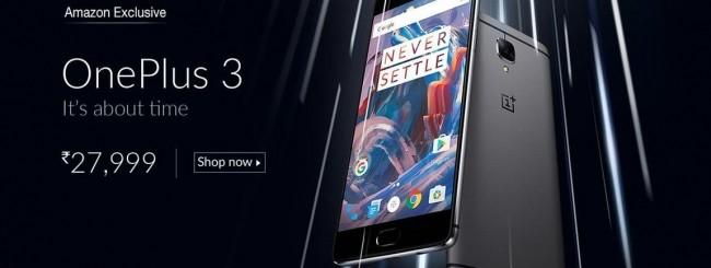 OnePlus 3 - Amazon India