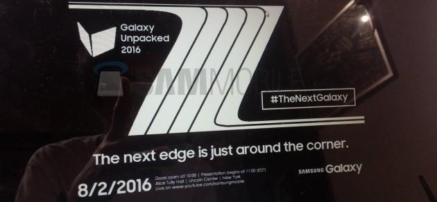 Samsung Galaxy Note 7 - Unpacked 2016
