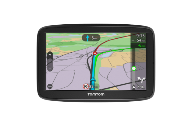 tomtom via navigatori con connessione smartphone webnews. Black Bedroom Furniture Sets. Home Design Ideas
