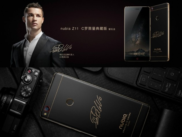 La Cristiano Ronaldo Edition con autografo sul retro.