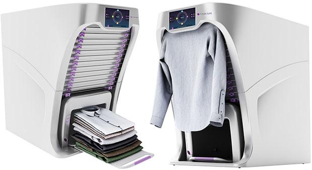 FoldiMate, il robot che stira e piega i vestiti