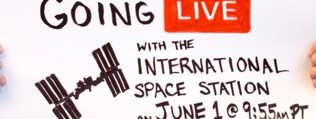 Facebook Live dalla ISS