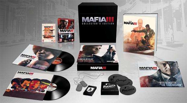Tutti i contenuti della Collector's Edition di Mafia 3