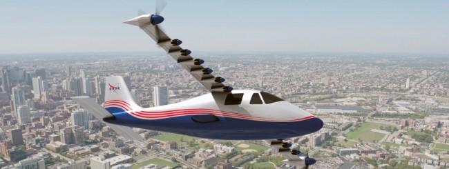 NASA aereo elettrico