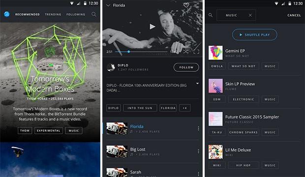 Screenshot per l'applicazione BitTorrent Now su smartphone Android